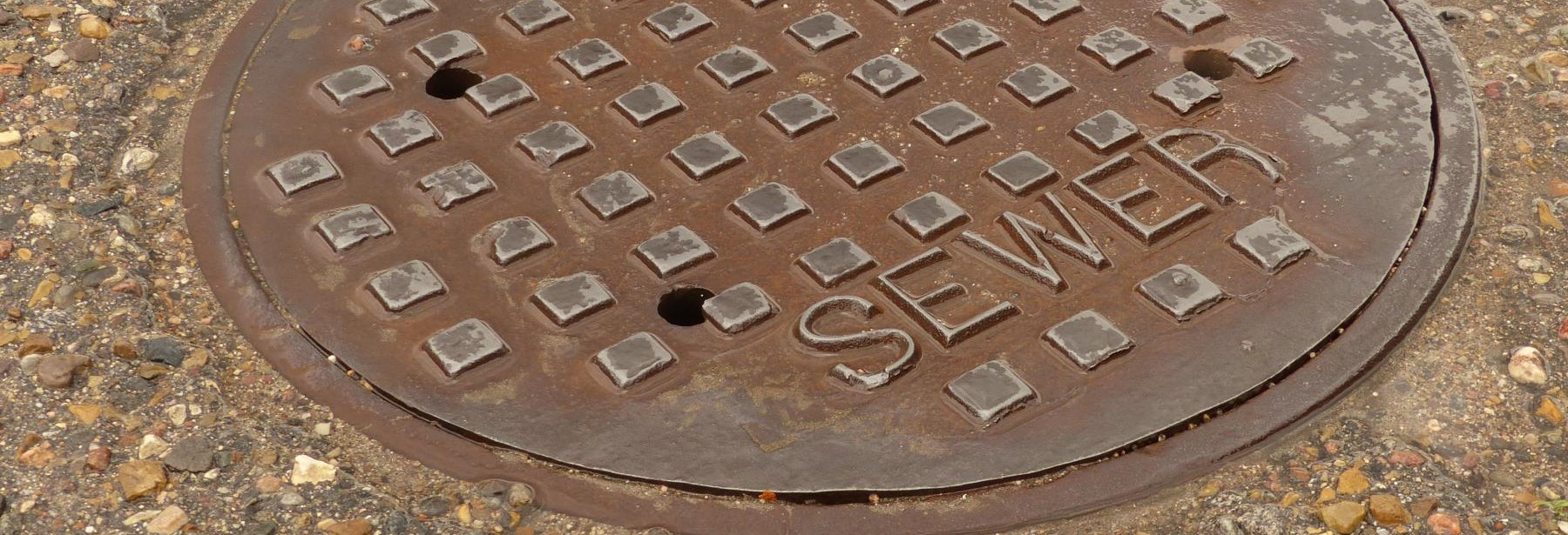 sanitary sewer manhole picture