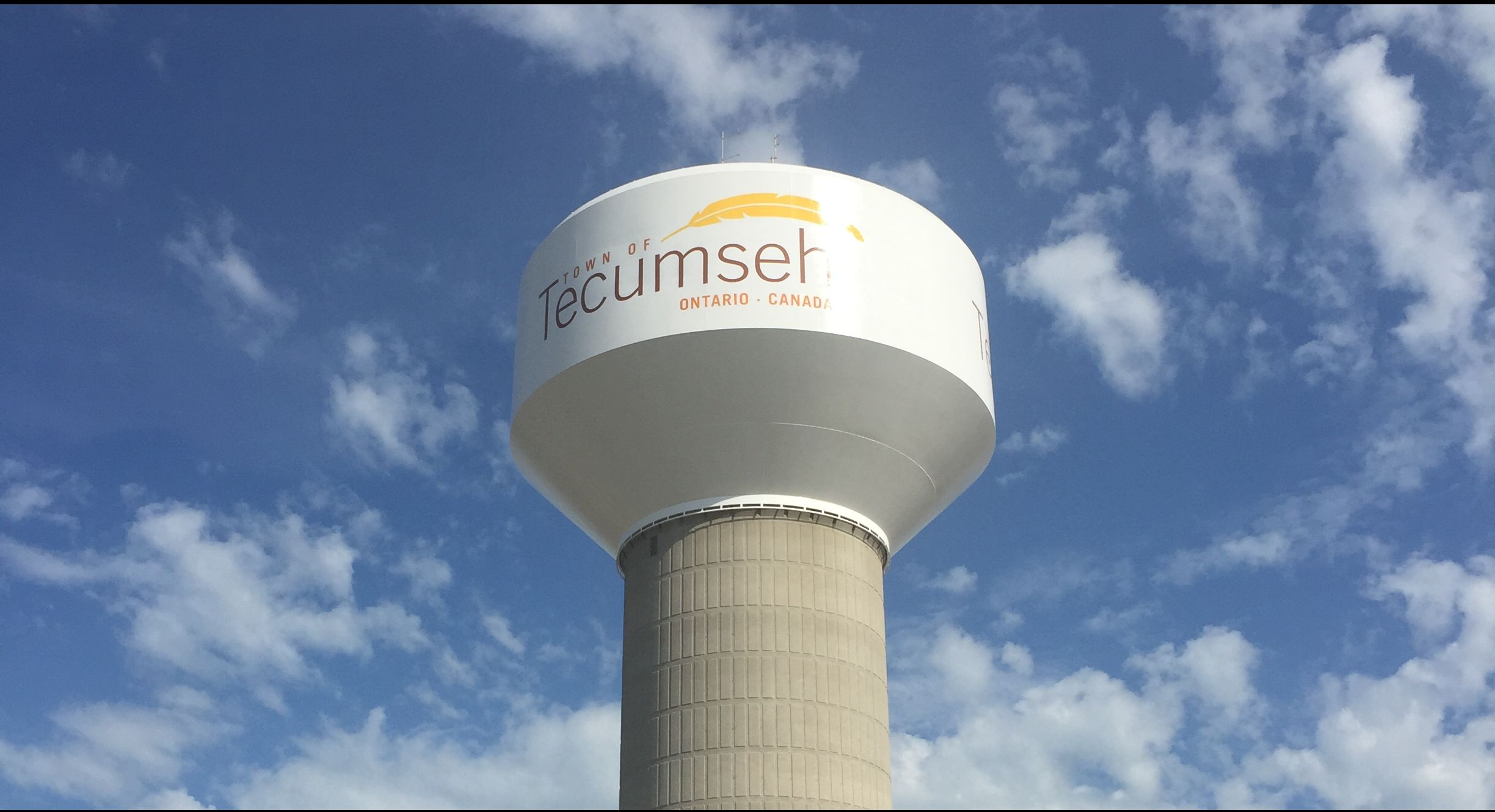 Tecumseh water tower