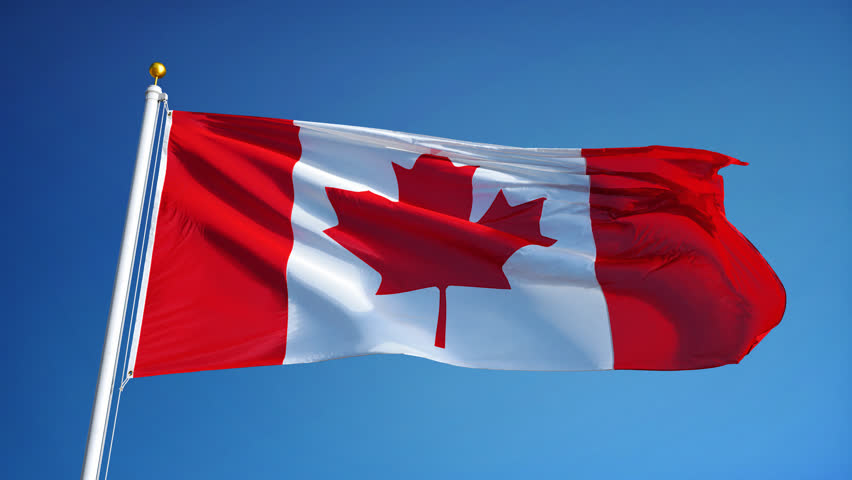 image of a canadian flag