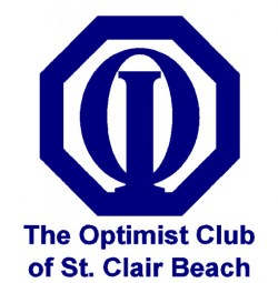 Logo Optimist Club of St Clair Beach