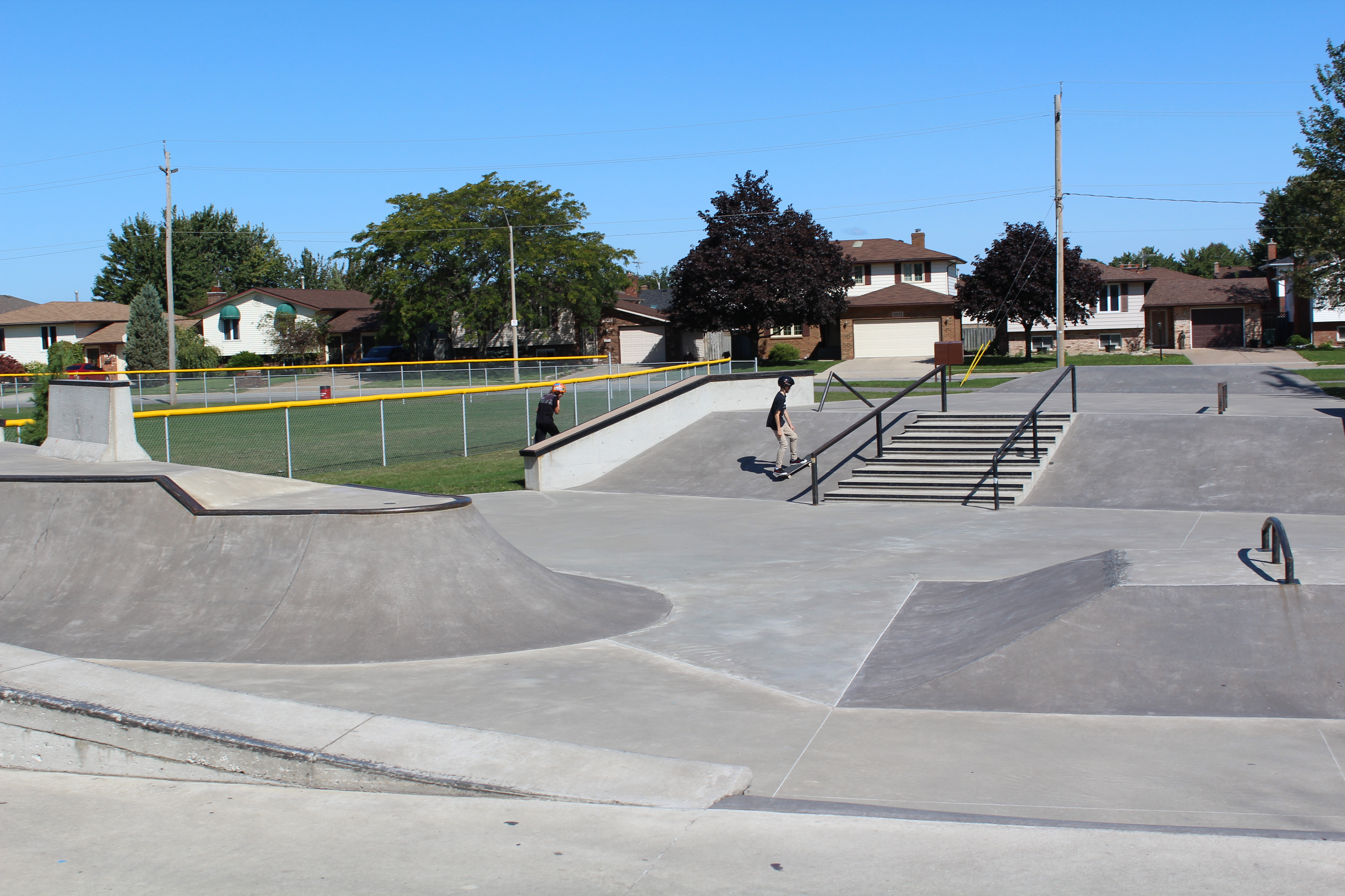 image of the Towns skate park